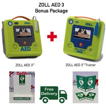 ZOLL AED3 Bonus package